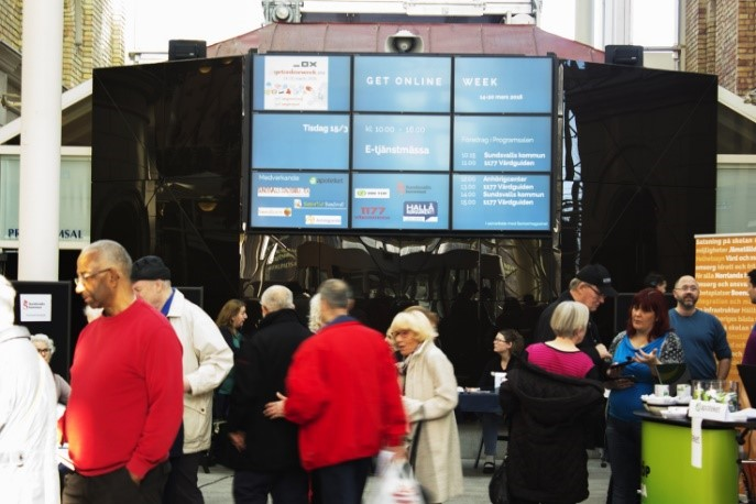 Image of E-Services Fair in Sweden