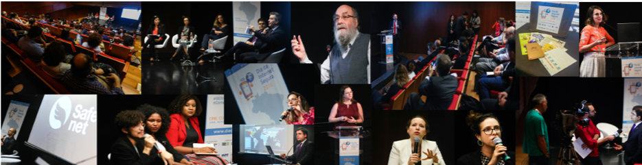 Collage of images from the Brazil SID 2018 event