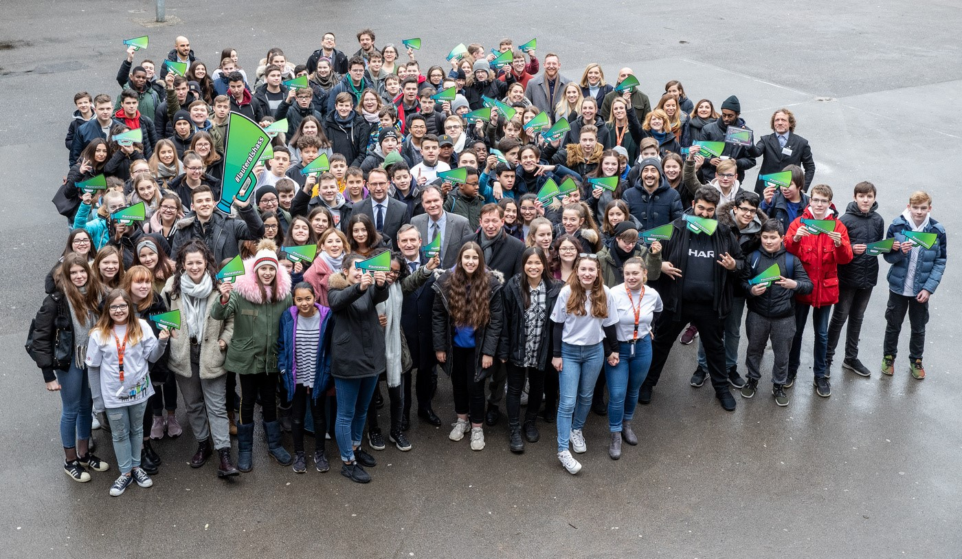 Picture of Safer Internet Day 2019 celebrations by klicksafe in Germany