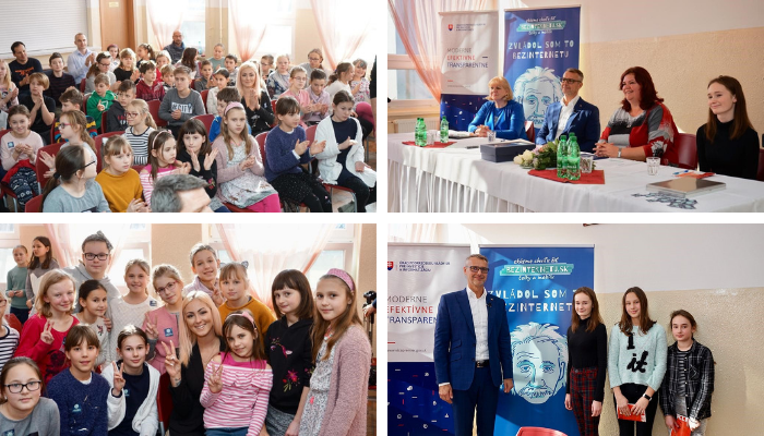 Picture of Safer Internet Day 2019 celebrations in Slovakia