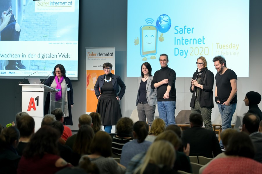 Picture of Safer Internet Day conference in Austria