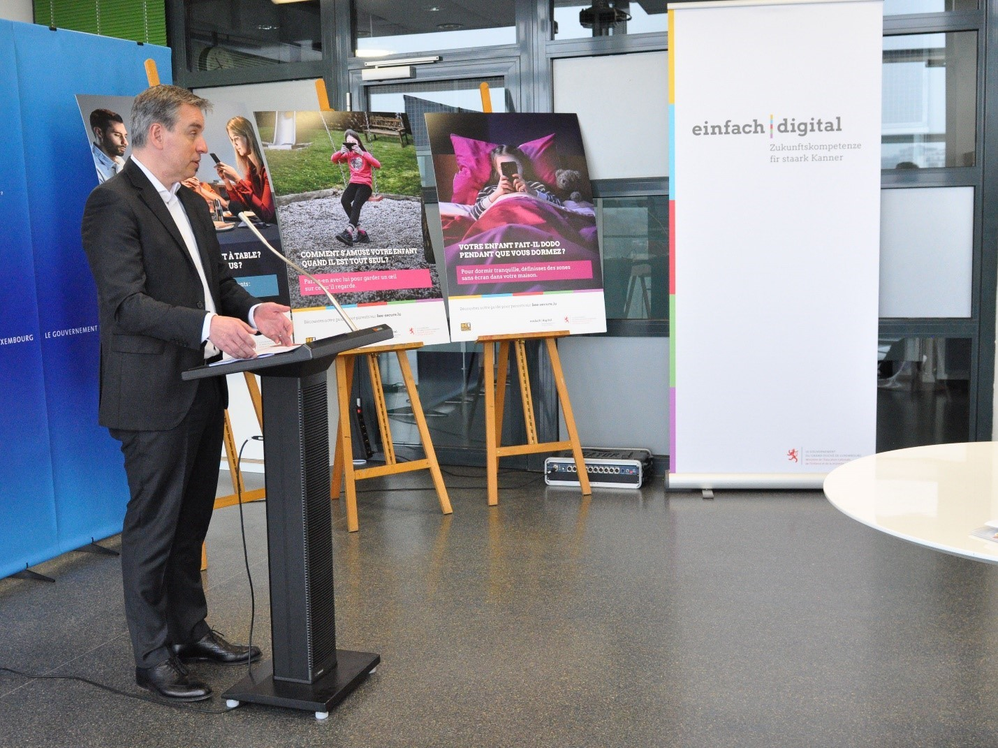 Picture of the einfach digital event in Luxembourg