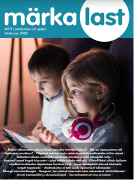 "Cover of the ""Notice a Child"" magazine's special Safer Internet Day edition"