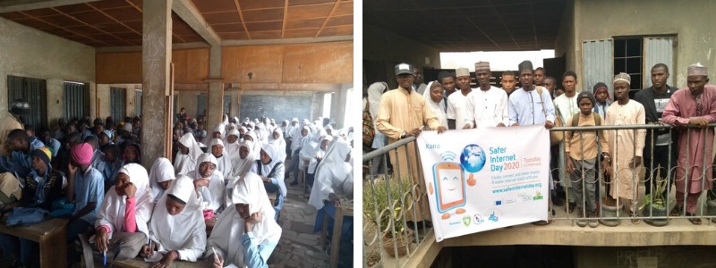 Pictures of Safer Internet Day celebrations in Nigeria