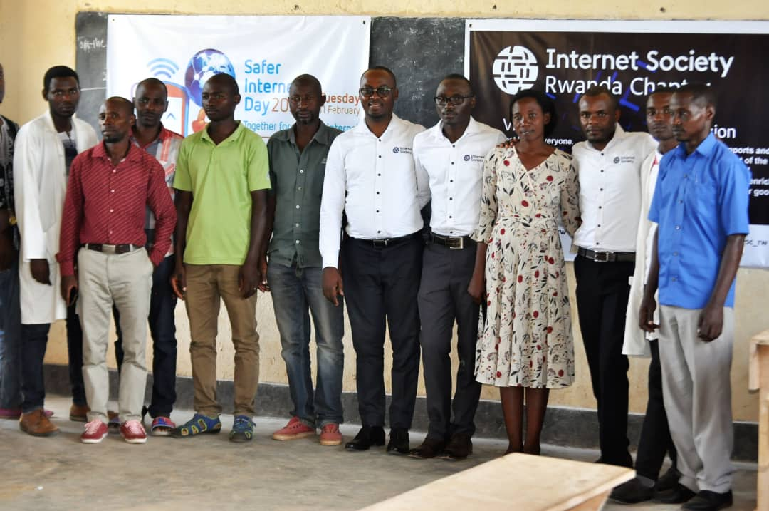 Picture of Safer Internet Day celebrations in Rwanda