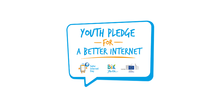 Youth Pledge for a Better Internet logo