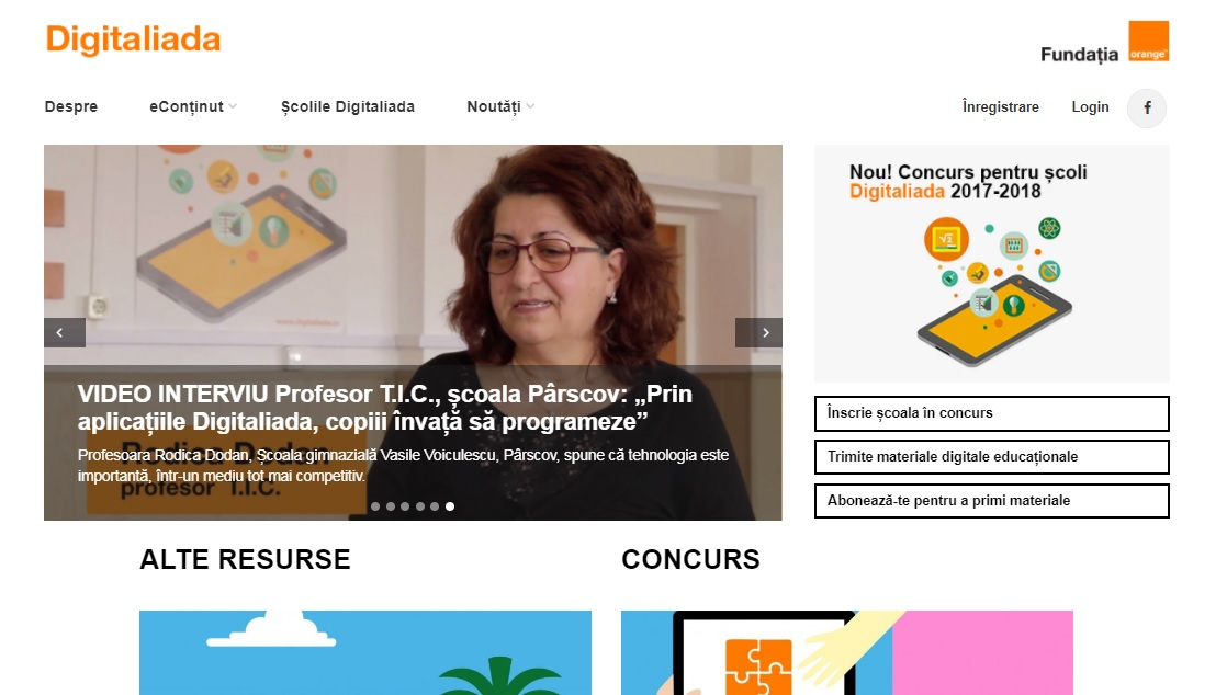 Screenshot of Digitaliada