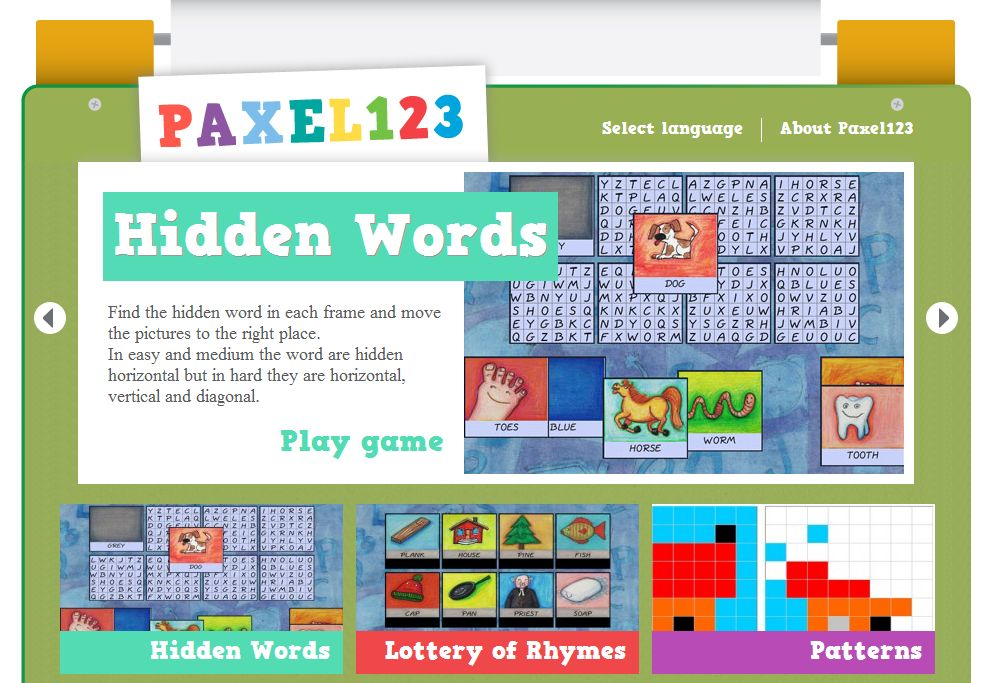 Screenshot of Paxel123
