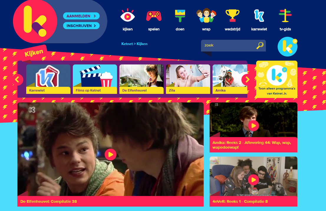 Screenshot of ketnet